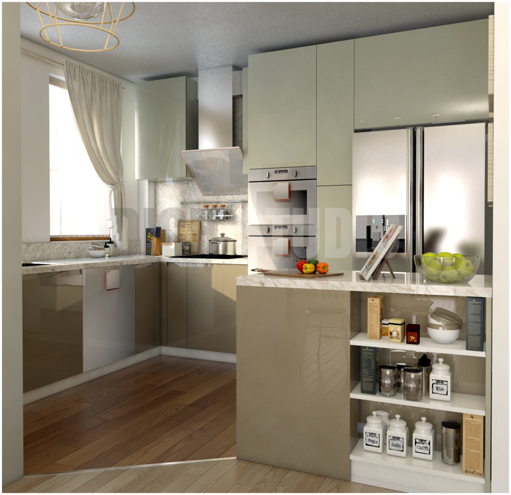 Kitchen green Tarnovo