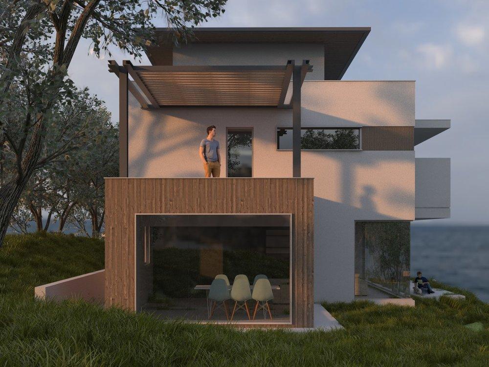 Проект на модерна къща, Варна