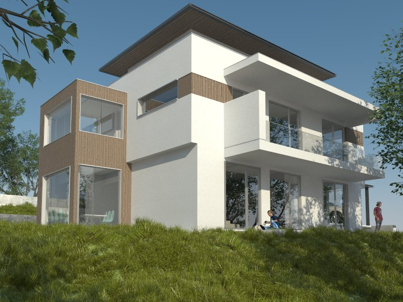 Modern house project Varna
