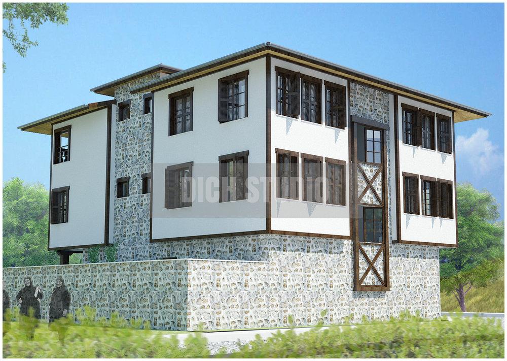 Проект къща за гости - екстериор