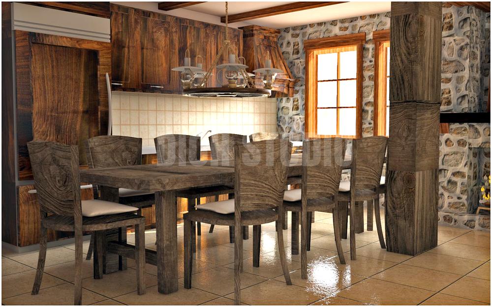Architectural design - interior living room