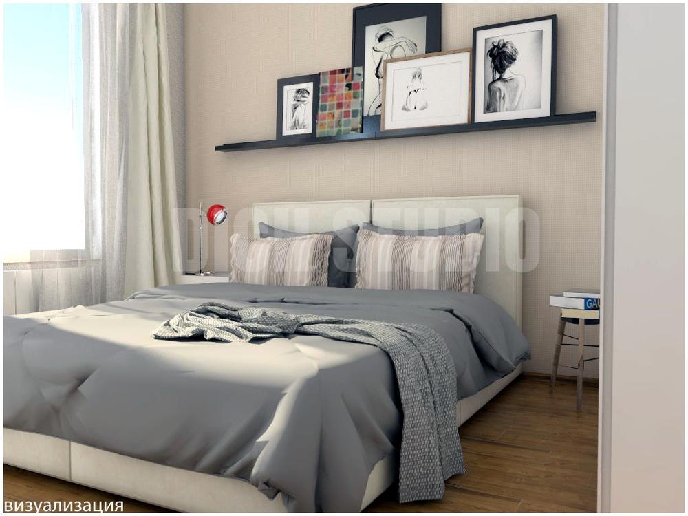 Интериор дизайн спалня Витоша София проект