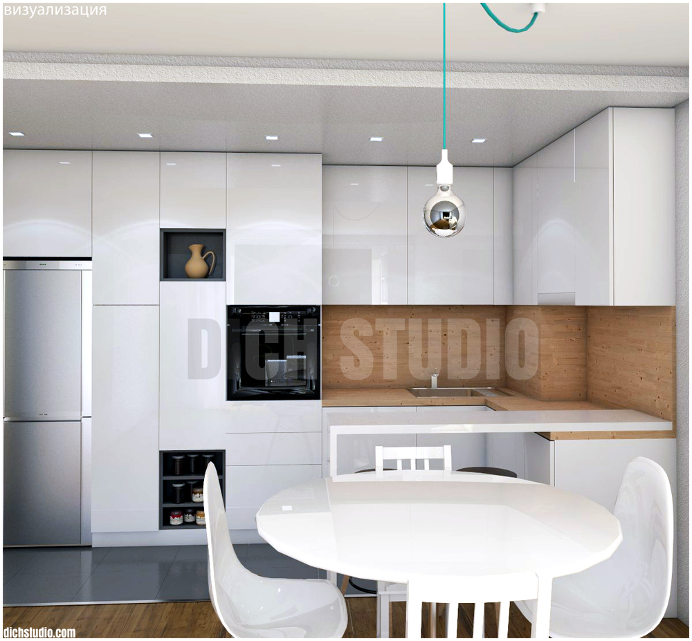 Design interior kitchen Sofia