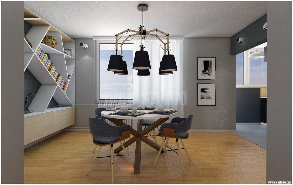 Вътрешен дизайн на апартамент, Враца