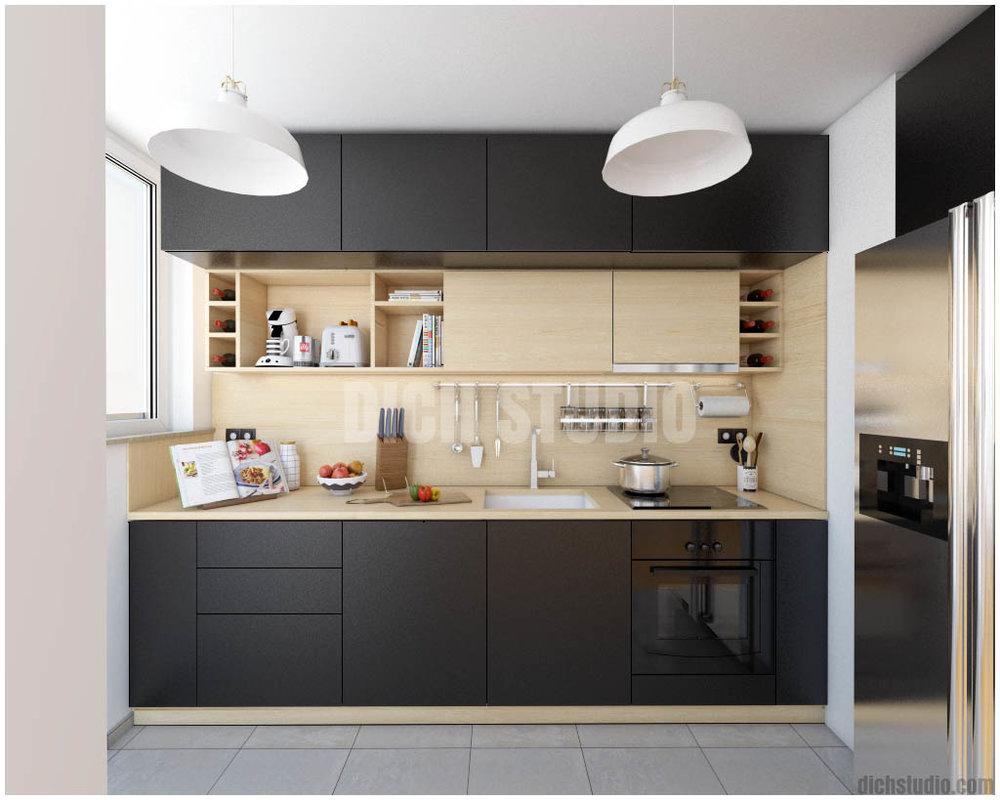 Черни шкафове - Модернизирайте кухненските си шкафове като ги боядисате в един от най-новите чернинюанси.