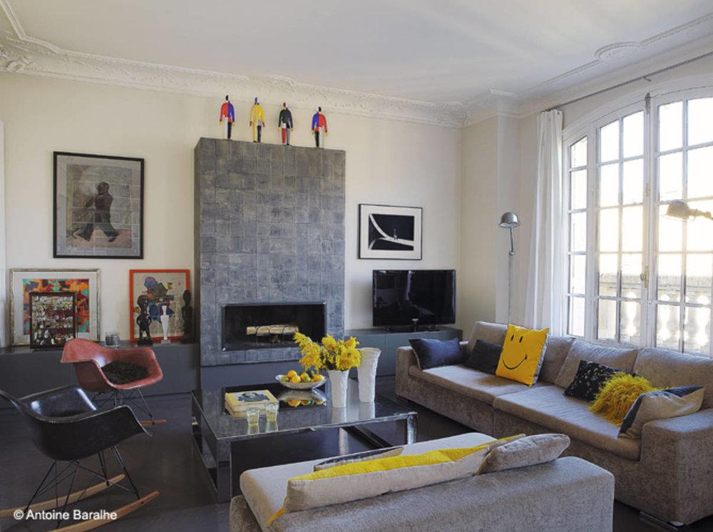 Парижанка.. - В този типичен апартамент на емблематичния парижкибулевард