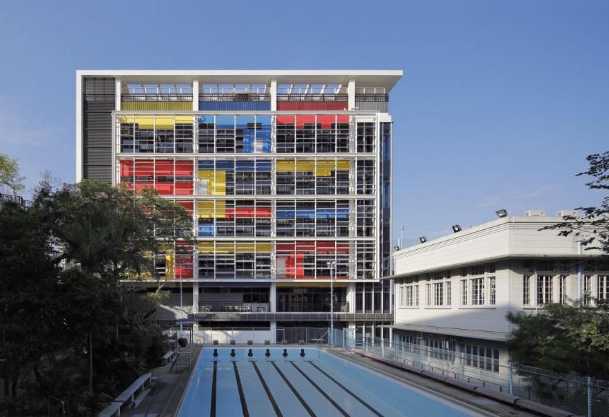Училище King George V , проект на Ronald Lu and Partners, Хонг Конг 2013