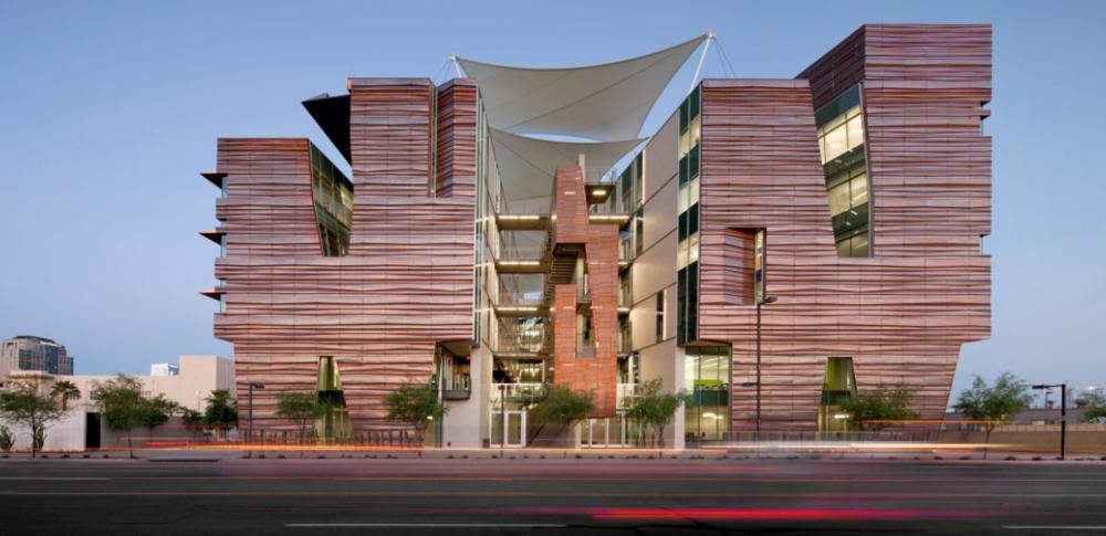 Университет по Здравни Науки към Университета в Аризона, проект на CO Architects,  Тусон, Аризона 2012