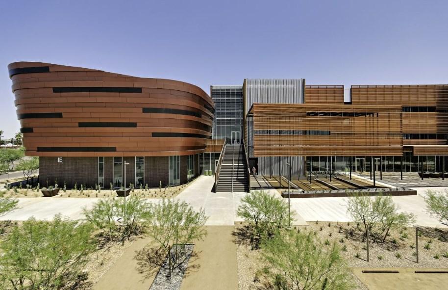 Колеж Gateway Community, проект на SmithGroup JJR, Финикс, Аризона 2015