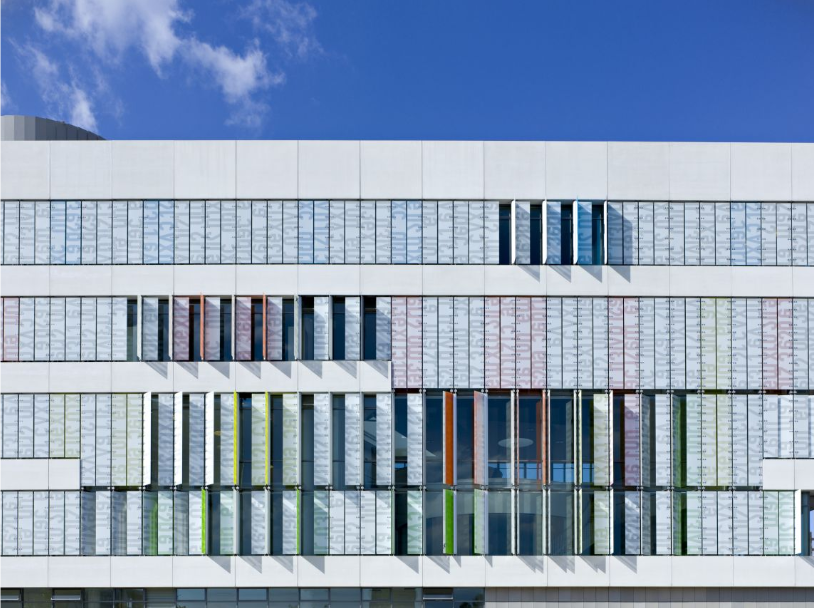 Училище Ørestad College, проект на 3XN Architects, 2005 (Копенхаген, Дания)