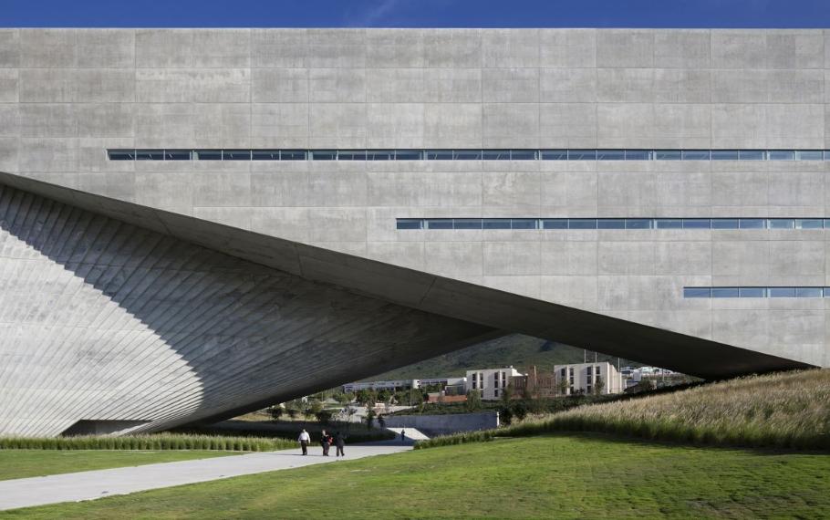Център по приложни изкуства Centro Roberto Garza Sada de Arte, проект Tadao Ando, 2012 (Монтерей, Мексико)