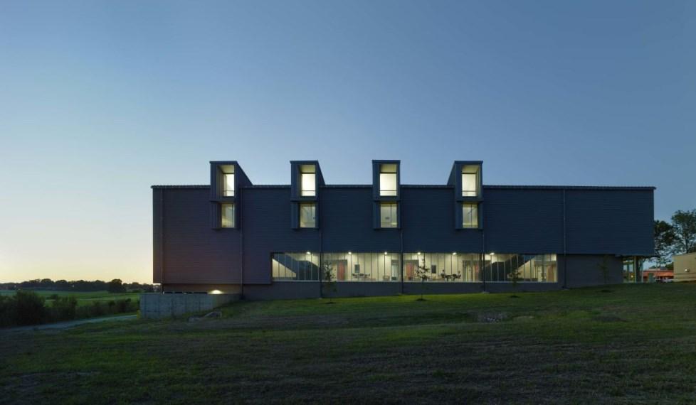 Hinds Community College, проект на Duvall Decker Architects, 2012 (Джаксън, Мисисипи)