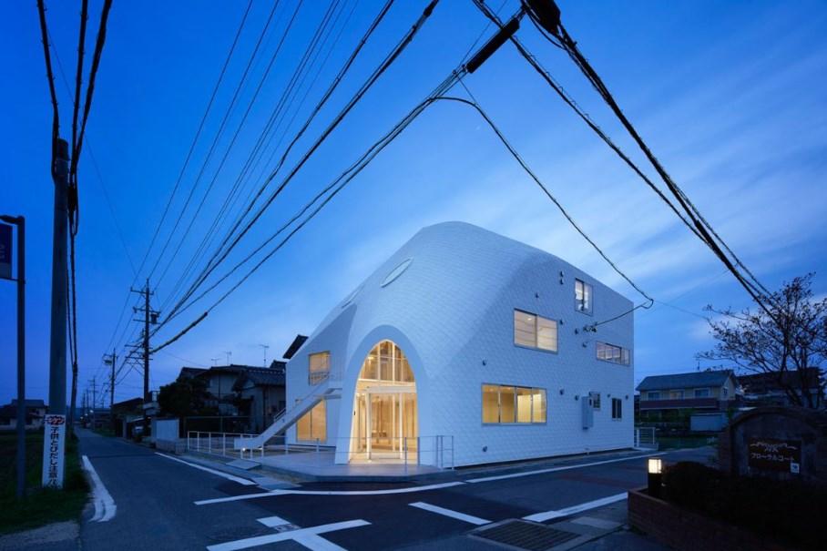 Детска градина Clover House, проект на MAD Architects, 2016 (Оказаки, Япония)