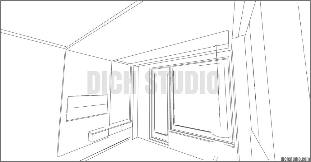 схематична визуализация интериор