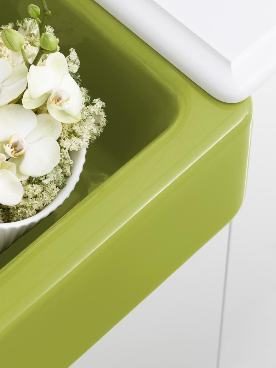 Свежи цветове за мивката