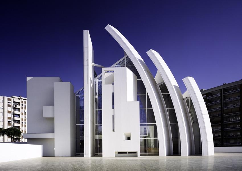 Jubilee Church  - архитект Richard Meier;  ф  ото:Scott Frances