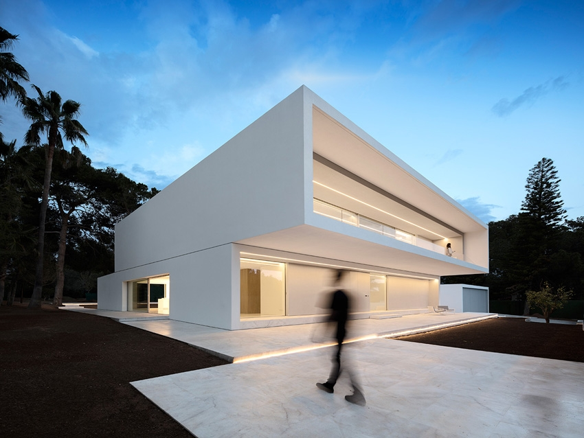 Къща La Pinada; архитект - Fran Silvestre Arquitectos; Фото: Fran Silvestre Arquitectos