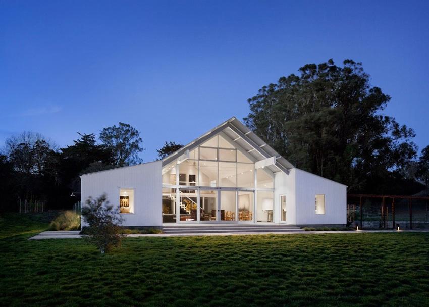 Ранчо Hupomone, Калифорния;  архитект -Turnbull Griffin Haesloop Architects; Фото:David Wakely