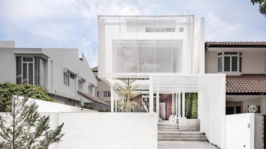 Greja House , Сингапур; архитект - Park + Associates Architects; Фото: E Hendricks