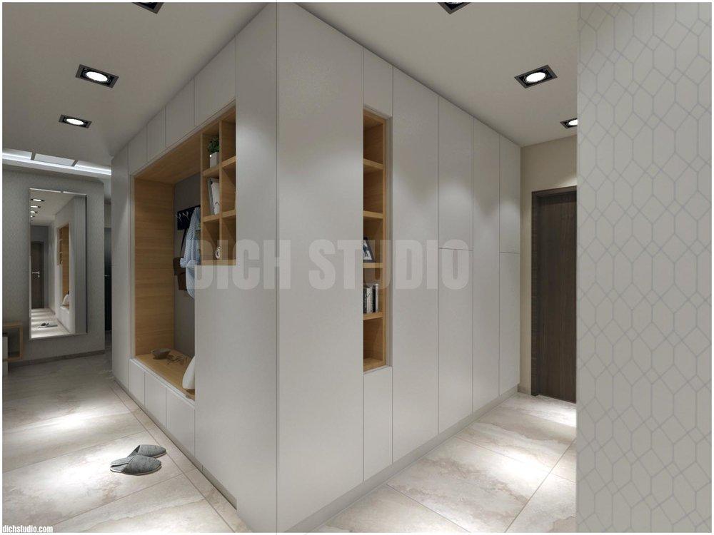 Дизайн коридор