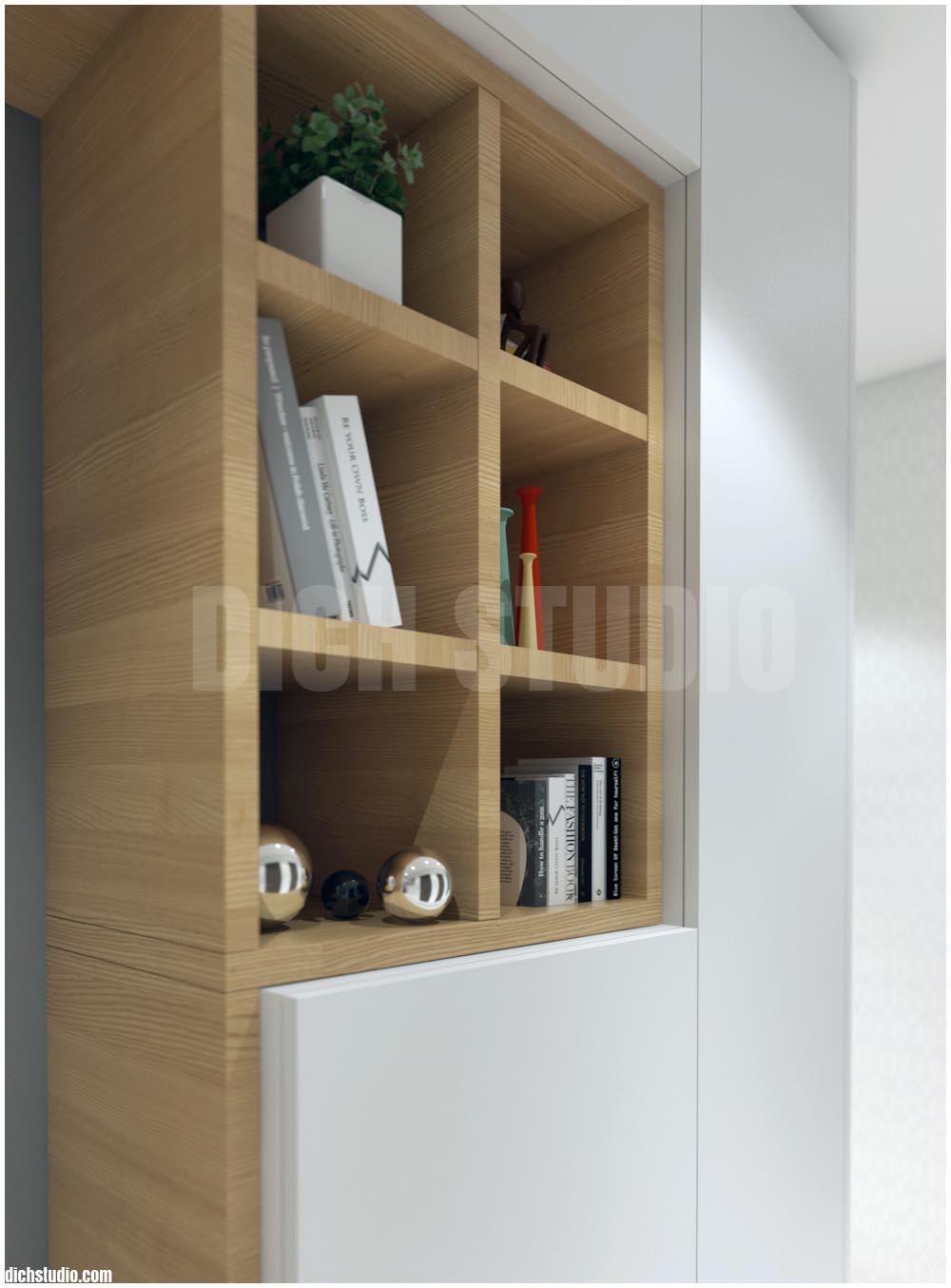 Дизайн коридор - фрагмент детайл