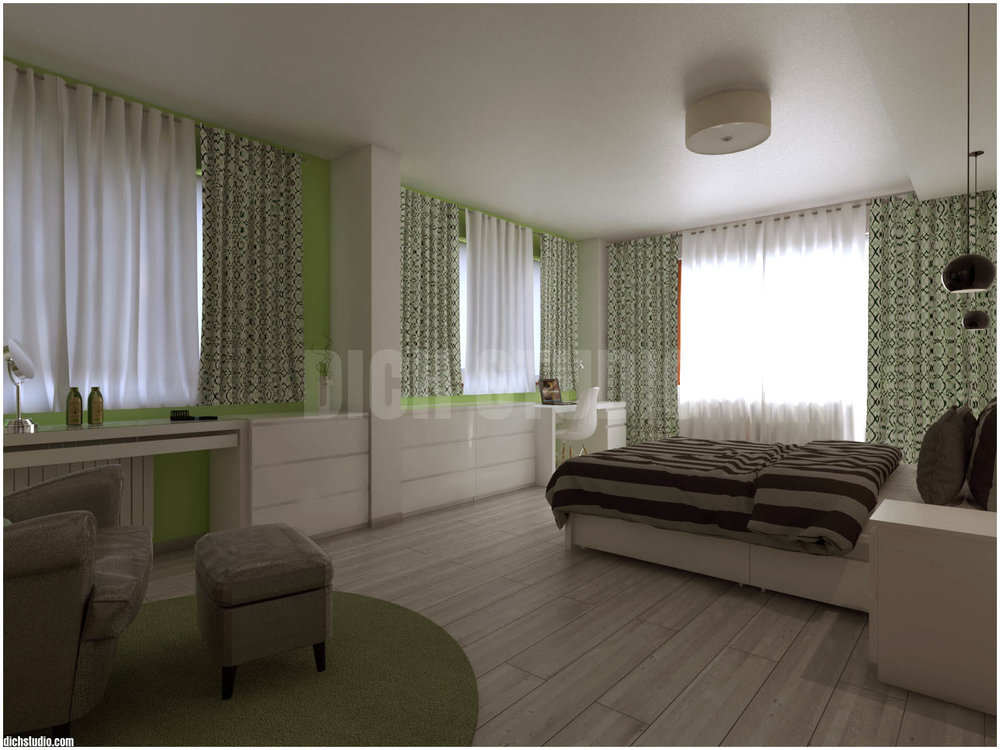 Интериор - спалня