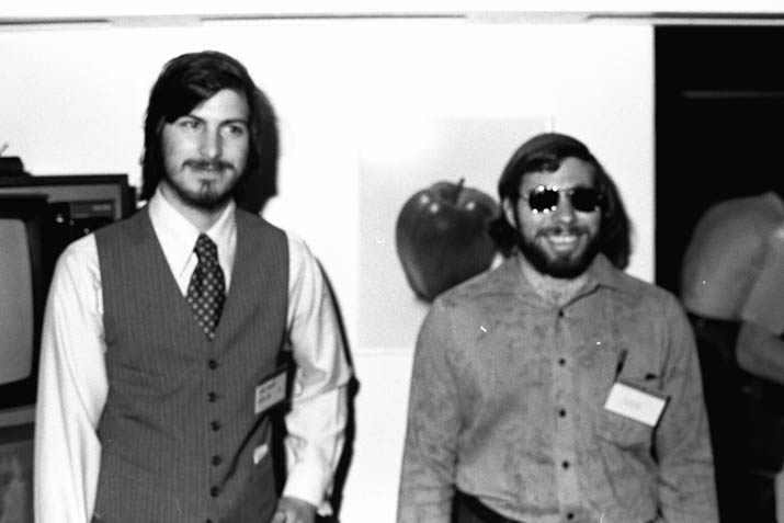 Woz and Jobs 1977