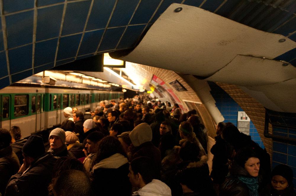 Tunnel vision, Paris