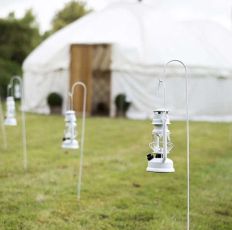 shepherd hook lanterns