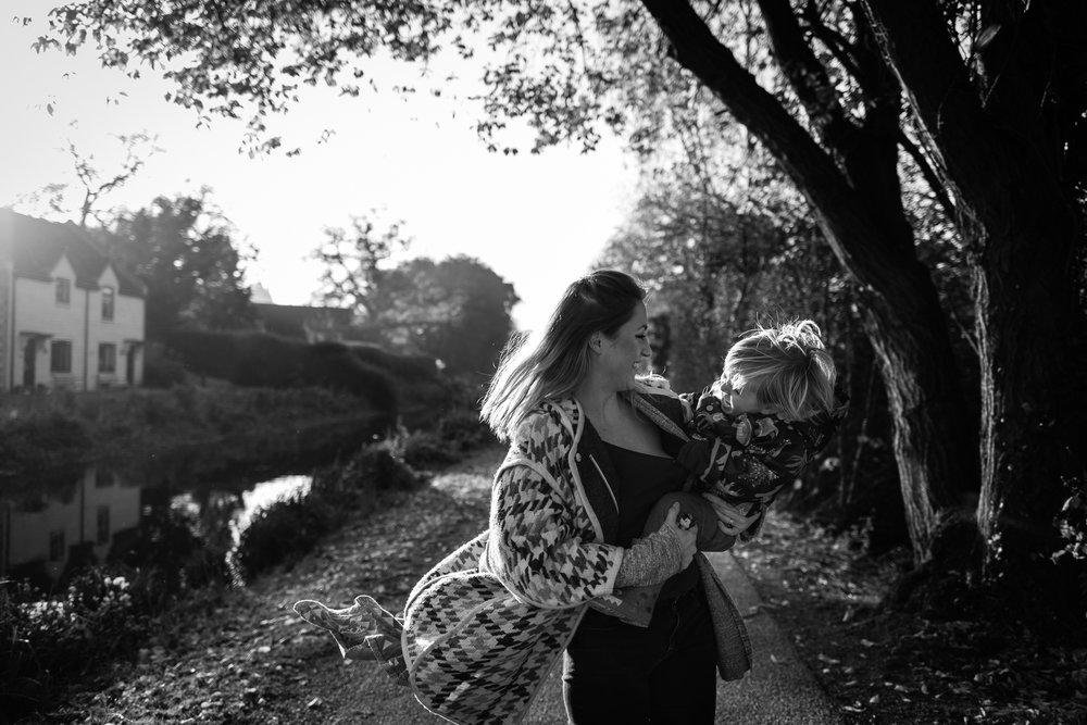 Alice Chapman Photography documentary family photoshoot
