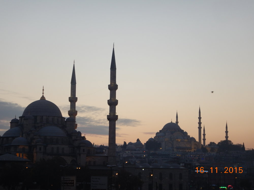 Mosques in İstanbul