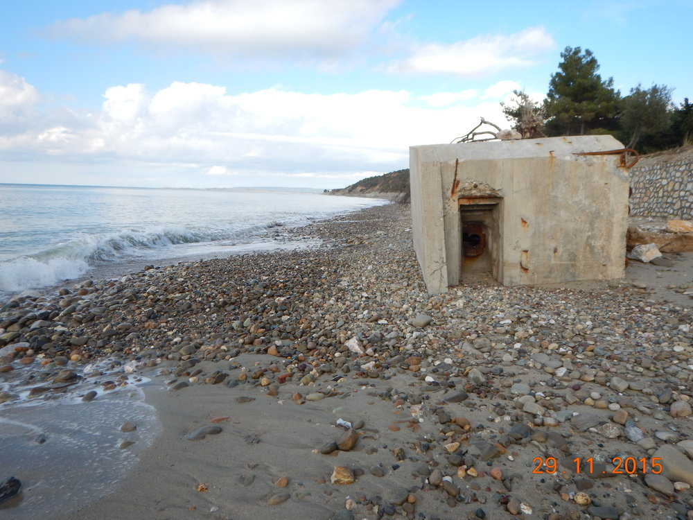 MG nest on the beaches of Gallipoli