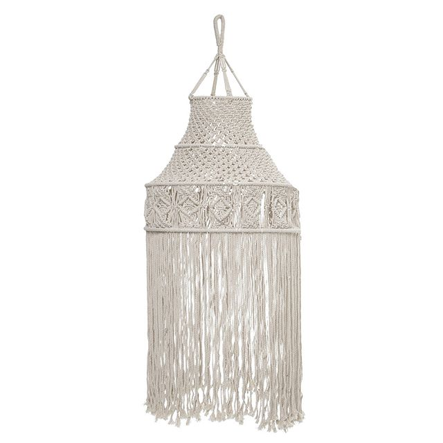 Love the intricate details of this hanging decor. It's eco-friendly, too!