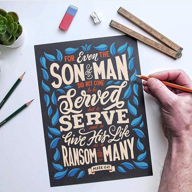Thank you very to @mattz_rene for introducing me to the phenomenal work of hand lettering artist @ianbarnard - I highly recommend checking out his profile as his videos are quite wonderful too