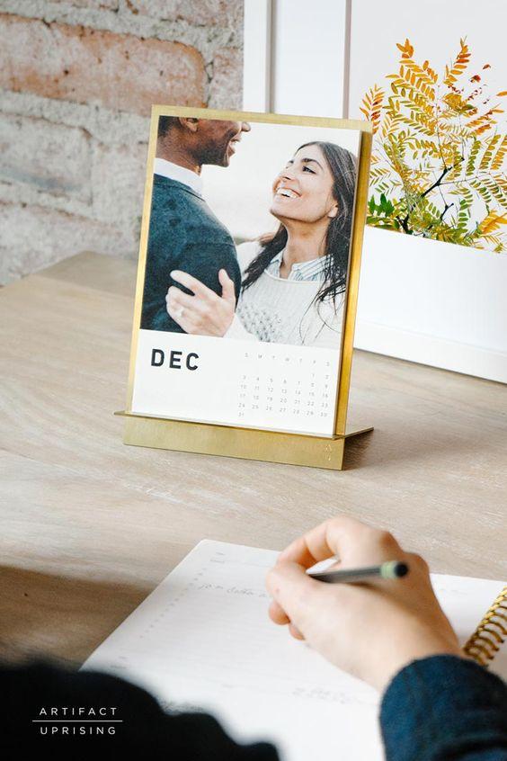 ARTIFACT UPRISING - Brass Easel Calendar