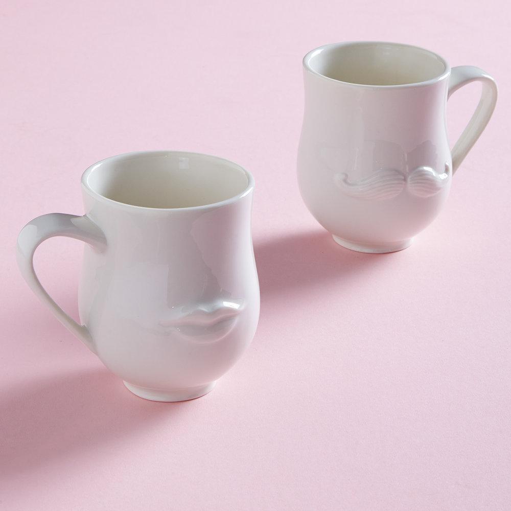 JONATHAN ADLER Mr & Mrs Reversible Cups