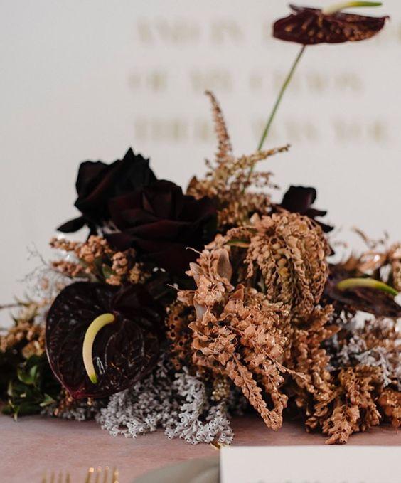 Warm earthy toned florala