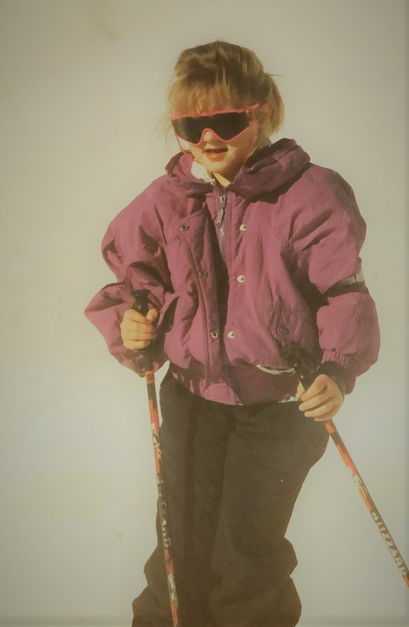 Frances Skiing