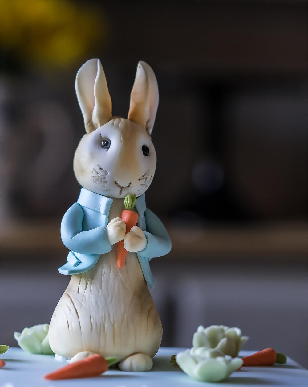 Peter Rabbit sugar model.JPG