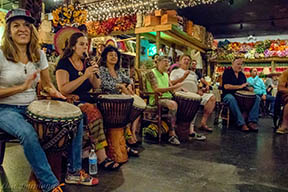 Drum Circle and workshop. Drumming Workshop from 6-7 for a $10 donation. Open Drum Circle starts at 7.  Bring your drums or any other musical makers. We will have a few extra drums available. Beverages for sale. Join us at Little Lattitudes. 569 Eau Gallie Blvd, Melbourne