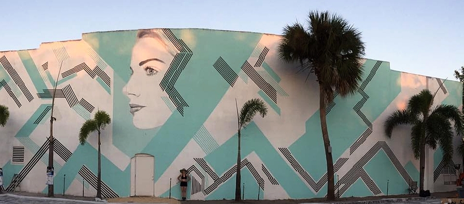 """Michelle Tanguay, """"Gravity,""""617 W Eau Gallie Blvd, facing east towards Clevens Face and Body Specialists"""