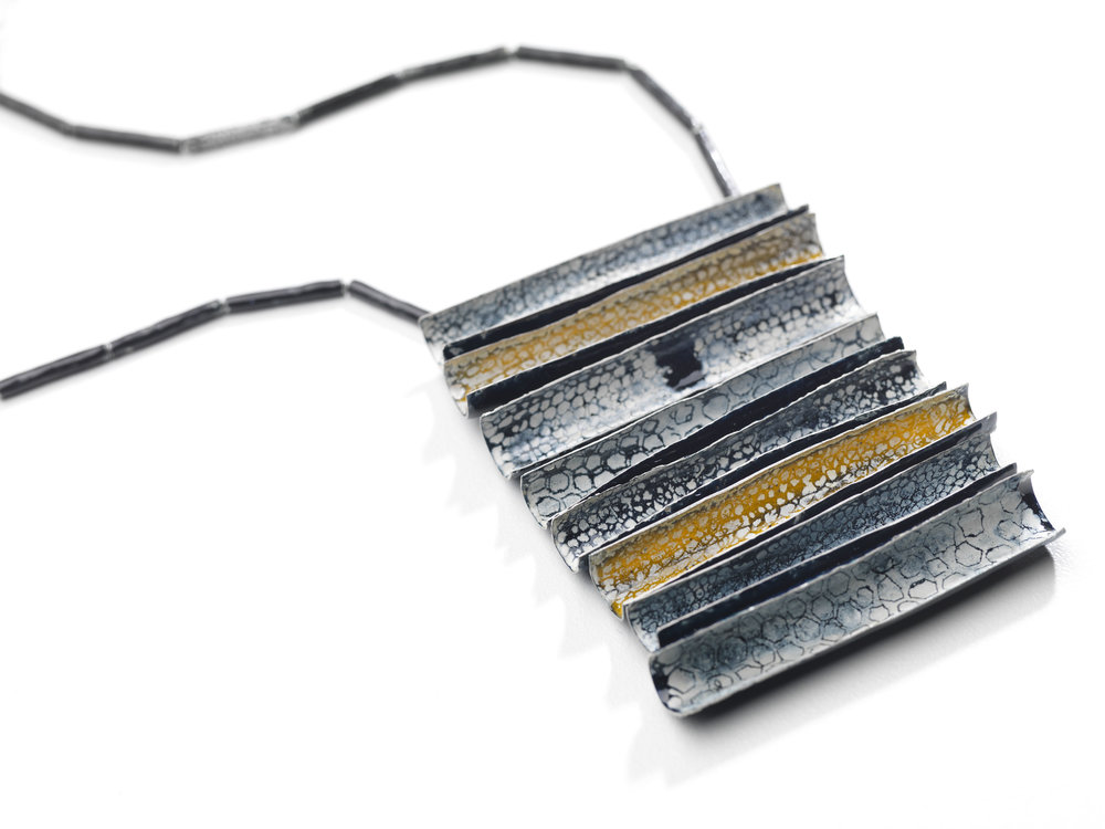 Emily Higham. Stacked Enamel Necklace.jpg