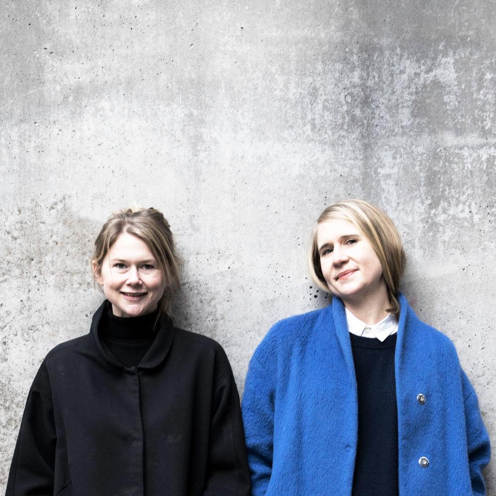 Moa Andrén och Tove Fogelström.