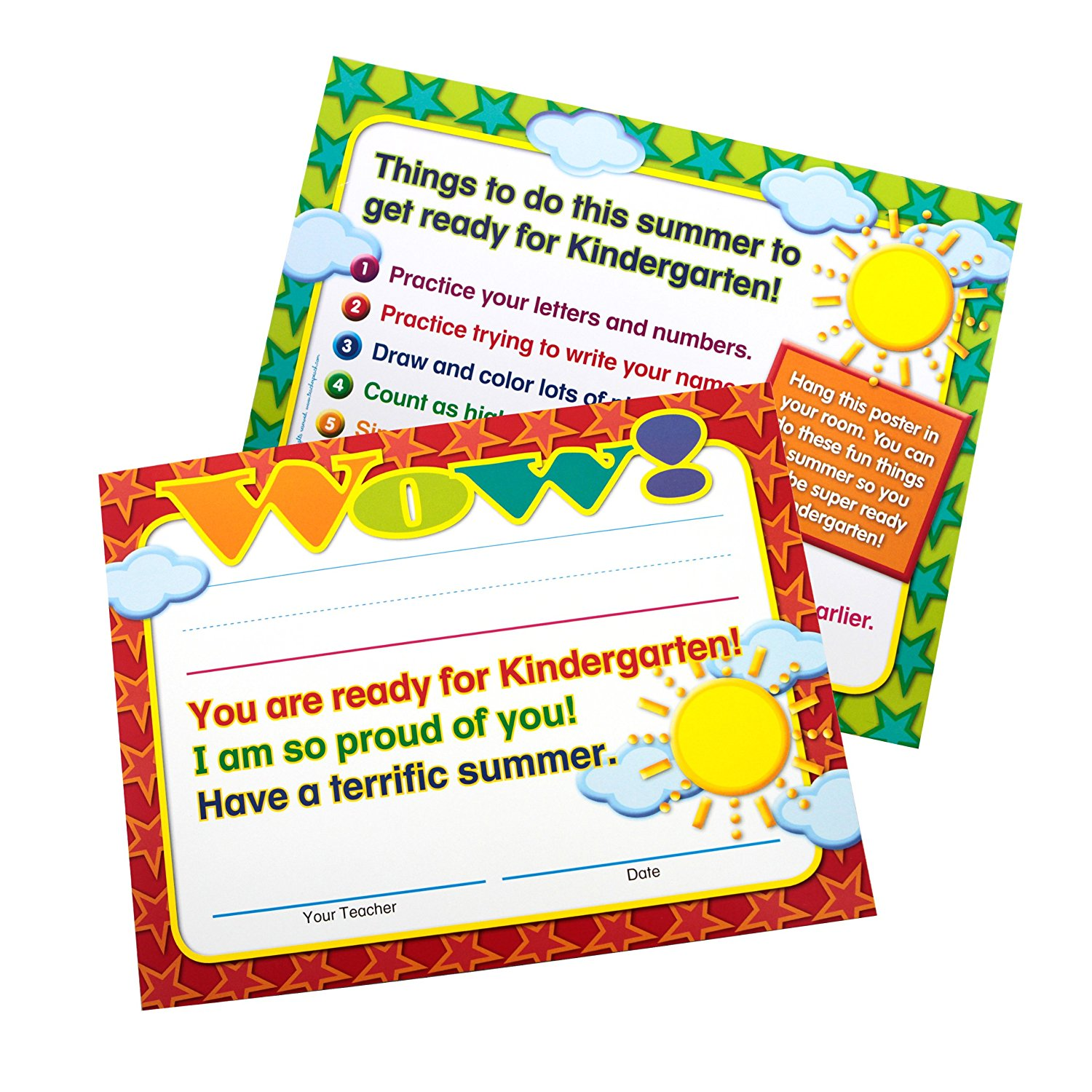 Moving to kindergarten end of year certificatesmini posters in moving to kindergarten end of year certificatesmini posters in two sets of 25 1betcityfo Images
