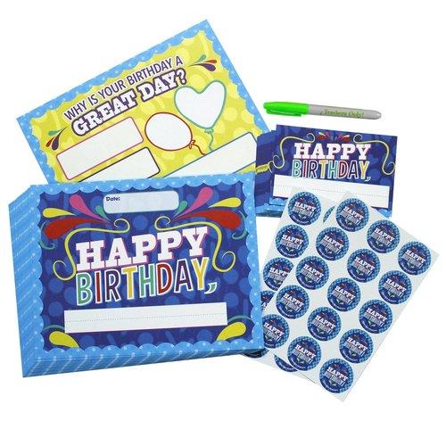 Happy Birthday Kit - Happy Birthday Certificate — Teacher Peach