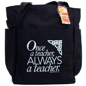 5f940a5883d5 Once a Teacher Always a Teacher Tote Bag 81JuNXfu7nL.