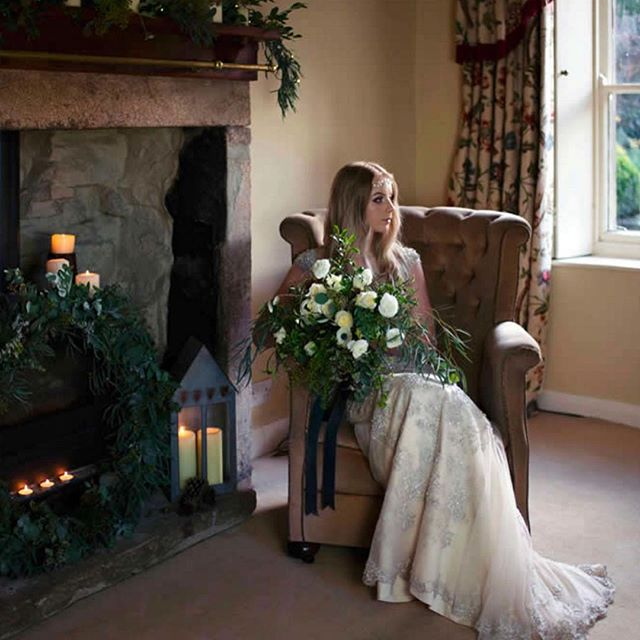 Check out the lovely @yorkshiredalesflowercompany - recently added to our website! (Photo by @silverymoonphotography)