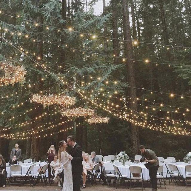 Fairy lights ALWAYS! #fairylights #weddingstyling