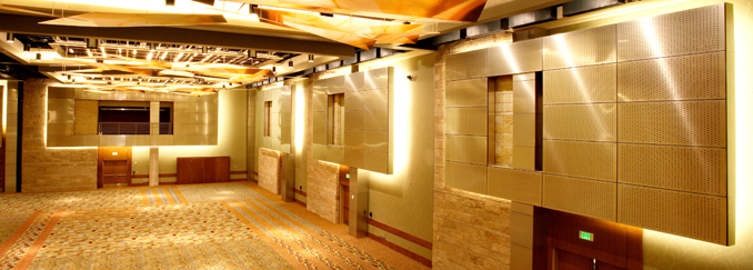 Metal ceiling and wall systems