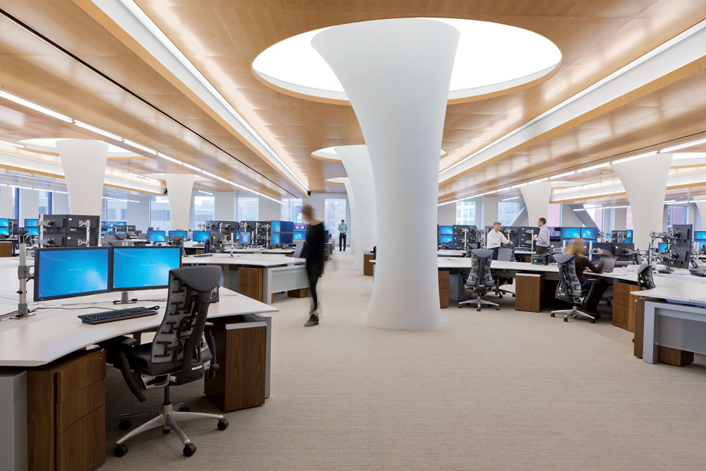 Design strategies specialty ceilings and walls for Space 120 architects